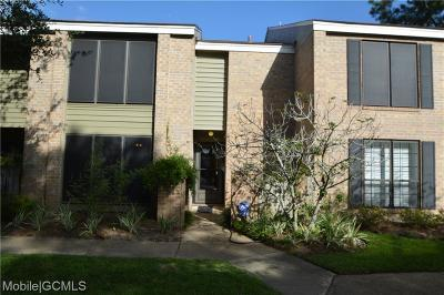 Mobile Condo/Townhouse For Sale: 2901 Grant Street #503