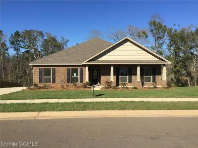 Mobile County Single Family Home For Sale: 9152 Redberry Drive
