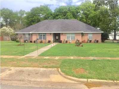 Citronelle Single Family Home For Sale: 8370 North Street