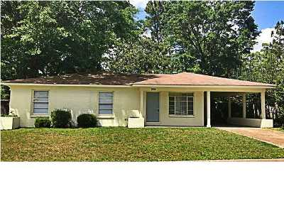 Mobile AL Single Family Home For Sale: $75,000