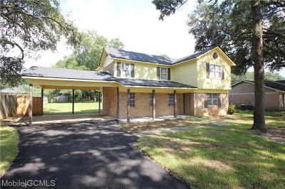 Theodore Single Family Home For Sale: 7175 Pecan Terrace Drive