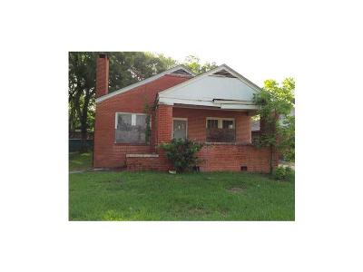 Mobile County Single Family Home For Sale: 1253 Ann Street