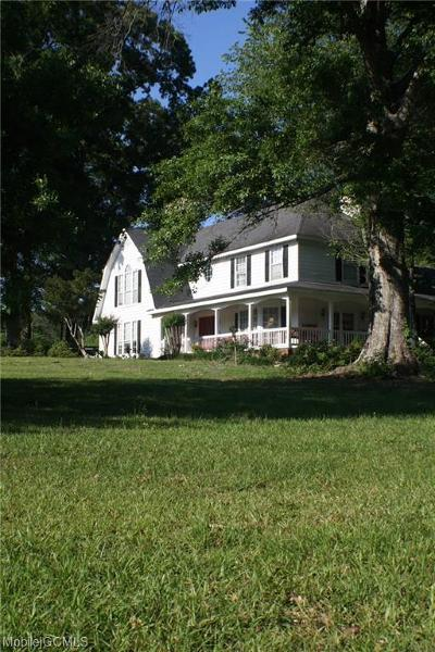 Citronelle Single Family Home For Sale: 14280 Boothtown Road