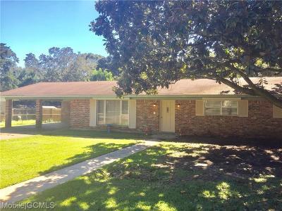Theodore Single Family Home For Sale: 6711 Oaklane Drive