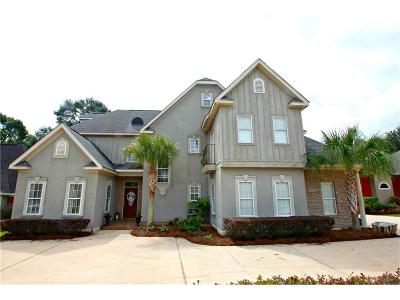 Mobile County Single Family Home For Sale: 8865 Dawes Lake Road N