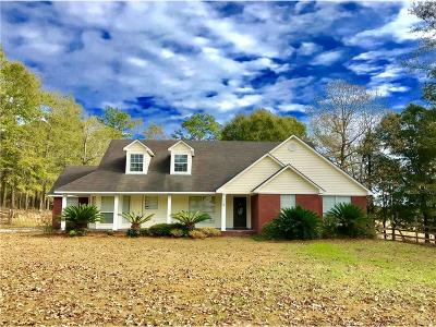 Wilmer Single Family Home For Sale: 7412 Lott Road