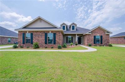 Theodore Single Family Home For Sale: 9127 Maxwell Drive N