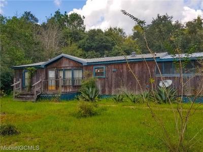 Irvington Single Family Home For Sale: 8110 Sunshine Drive