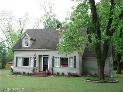 Citronelle Single Family Home For Sale: 8355 Newburn Street