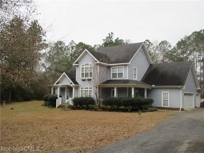 Citronelle Single Family Home For Sale: 18300 Willow Court