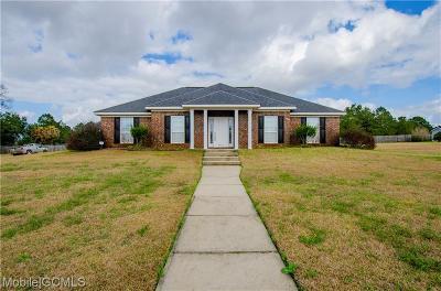 Irvington Single Family Home For Sale: 8296 Amanda Lane