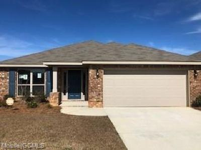 Semmes Single Family Home For Sale: 1307 Fairlawn Drive