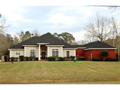 Mobile County Single Family Home For Sale: 1031 Walter Smith Road