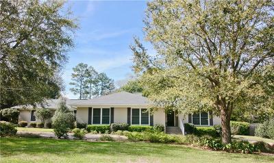 Mobile County Single Family Home For Sale: 72 Jordan Lane