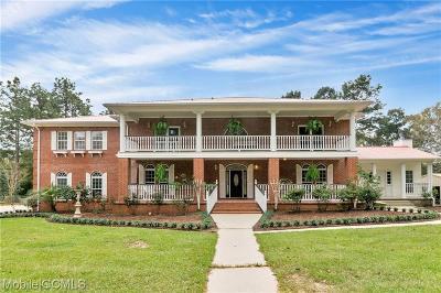 Semmes Single Family Home For Sale: 8275 Brackett Lane