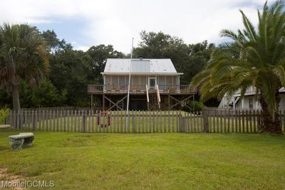 Coden Single Family Home For Sale: 15699 Dauphin Island Parkway #C