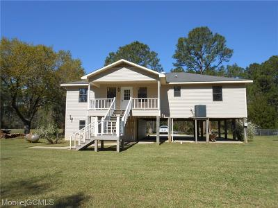 Coden Single Family Home For Sale: 15421 Morris Drive