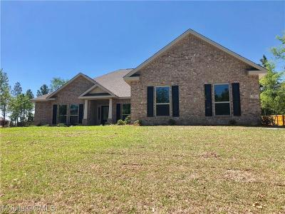 Semmes Single Family Home For Sale: 7521 Clairmont Drive N
