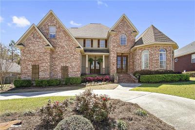 Mobile County Single Family Home For Sale: 3607 Willow Walk Drive