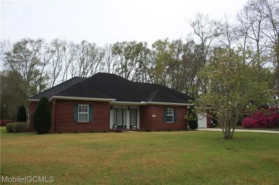 Grand Bay Single Family Home For Sale: 13091 Holly Court