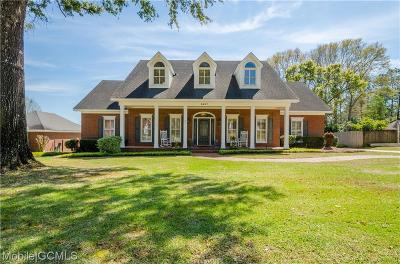 Mobile County Single Family Home For Sale: 5607 James Madison Drive N