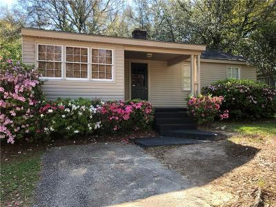 Mobile AL Single Family Home For Sale: $89,900