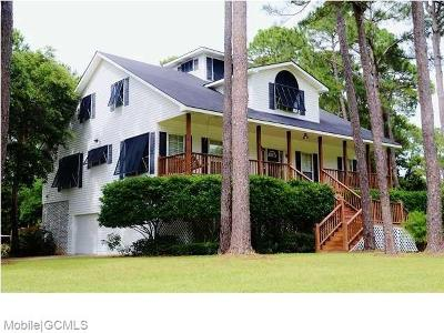 Mobile County Single Family Home For Sale: 142 Orleans Drive