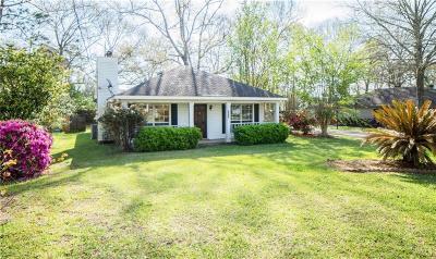 Mobile County Single Family Home For Sale: 1067 Schaub Avenue