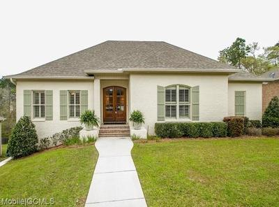Mobile County Single Family Home For Sale: 6604 Crystal Court N