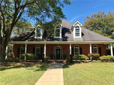 Mobile County Single Family Home For Sale: 2502 Muir Woods Drive W