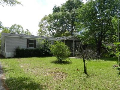 Irvington Single Family Home For Sale: 7721 Pecan Drive S