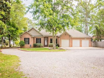 Mobile County Single Family Home For Sale: 6499 Bay Road