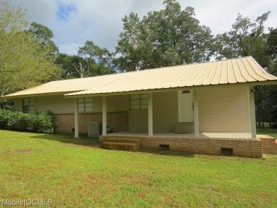 Theodore Single Family Home For Sale: 5025 Dawes Road