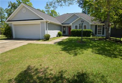 Single Family Home For Sale: 8517 Southern Oak Court
