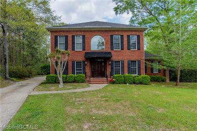 Mobile County Single Family Home For Sale: 2850 Briarfield Lane