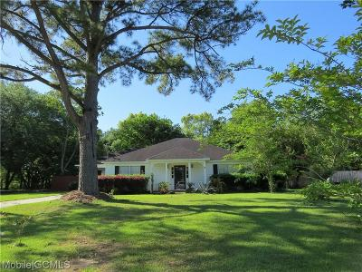 Theodore Single Family Home For Sale: 9285 Pecan Terrace Court