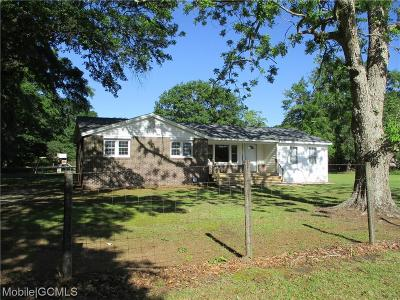 Grand Bay Single Family Home For Sale: 8654 Ramsey Road