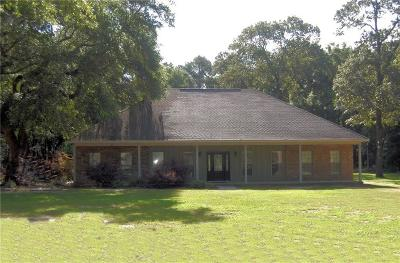 Creola Single Family Home For Sale: 8504 Lister Dairy Road