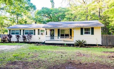 Bayou La Batre Single Family Home For Sale: 8160 Hemley Street