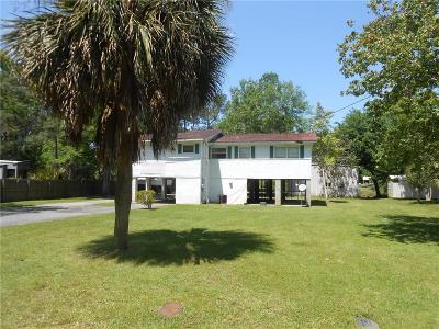 Coden Single Family Home For Sale: 15300 Delta Port Boulevard
