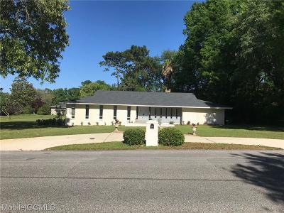 Mobile Single Family Home For Sale: 251 Rochester Road