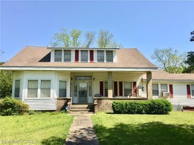 Mobile County Single Family Home For Sale: 470 Mott Road