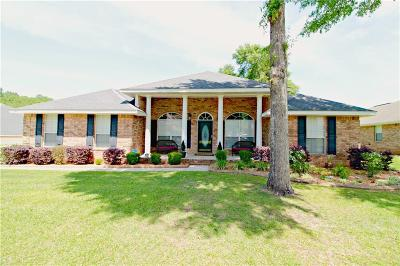 Mobile County Single Family Home For Sale: 9436 Lake Woods Court