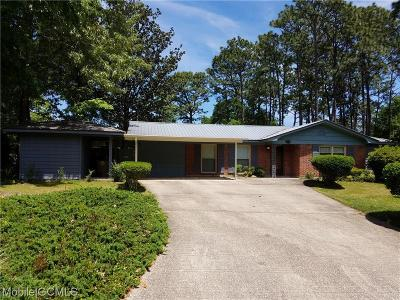 Mobile County Single Family Home For Sale: 5900 Woodvale Drive