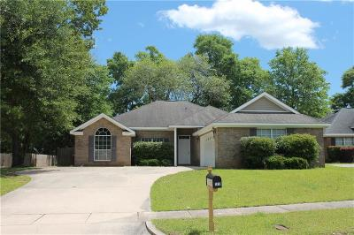 Mobile AL Single Family Home For Sale: $189,900