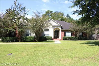 Semmes Single Family Home For Sale: 3983 Blakewood Drive W