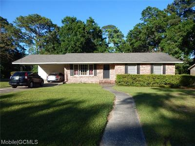 Mobile County Single Family Home For Sale: 1513 Shan Drive E