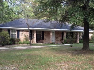 Chunchula Single Family Home For Sale: 3366 Orion Path