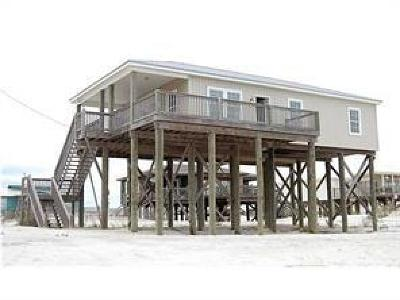 Dauphin Island Single Family Home For Sale: 100 St Denis Court