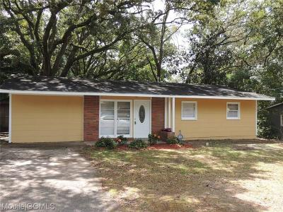 Mobile Single Family Home For Sale: 6557 Wesley Drive